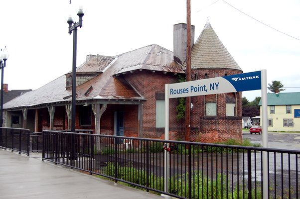 Former Delaware and Hudson Railway Station