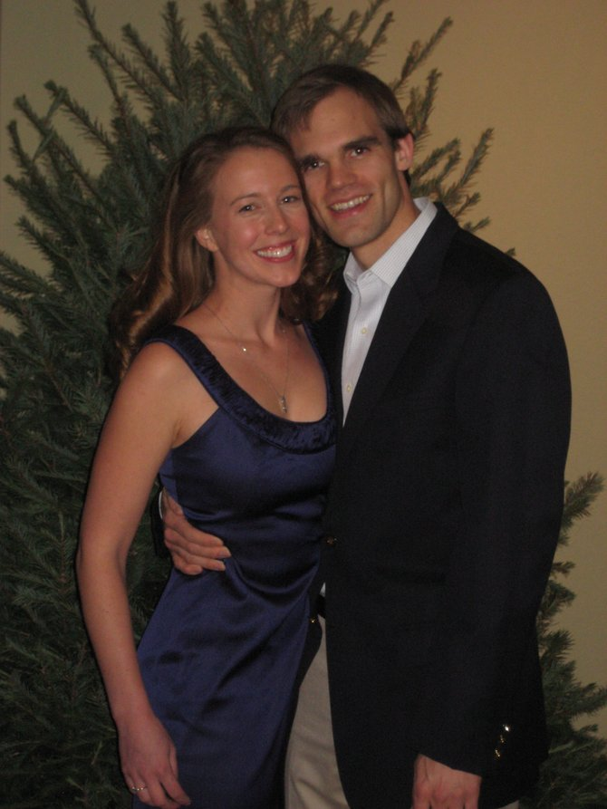 Laurie Brown and Travis Hobart are engaged to be wed June 2, 2012.