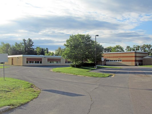 The former Cadyville Elementary School, located on State Route 3, remains for sale after a purchase offer fell through recently.