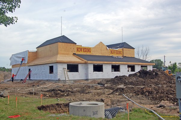 The new location for a Texas Roadhouse on outer Cornelia Street is among the latest projects happening in the town of Plattsburgh.