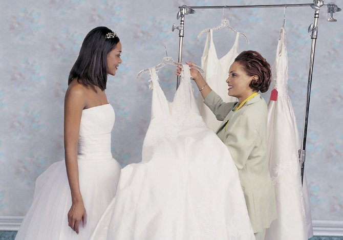 Picking the perfect gown for your day can be fun.