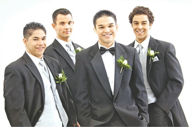 Groomsmen play a big role in the wedding cermony and reception.
