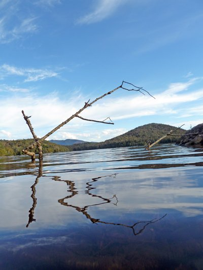 A look at picturesque Lake Henderson in the Tahawus tract.