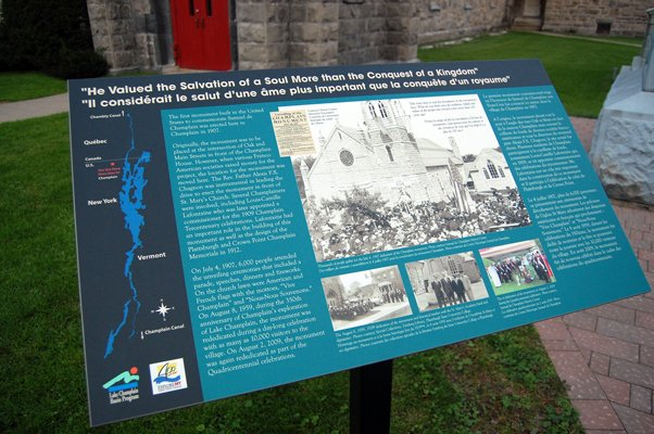 Interpretive panels appear in Northern Tier.