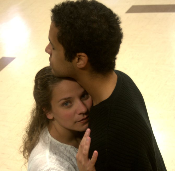 Maxwell Anderson and Lynn Barbato star in the Baldwinsville Theatre Guild's upcoming production of 'Othello.' Anderson plays the lead, Othello, and Barbato plays his love interest, Desdemona. The show opens at 7:30 p.m. Oct. 21 at the Presbyterian Education Center, 64 Oswego St., Baldwinsville. Call 877-4183 or visit baldwinsvilletheatreguild.org for tickets.