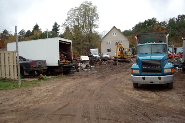 The condition of a property owned by Jesse Reed on State Route 3 in the hamlet of Redford was discussed at the most recent meeting of the Saranac Town Council. The property houses Reed's business, Recycling Technologies, which deals with recycling scrap metal.
