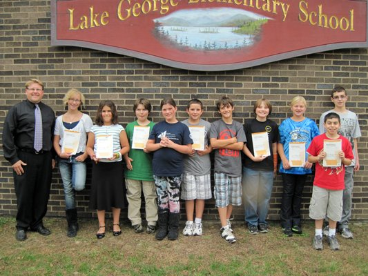 The Lake George Elementary School students participating in the upcoming All-County Vocal Festival include:  Owen Snyder, Julia Dickinson-Frevola, Colin Fitzpatrick, Case Prime, Andrew Schiavo, Sydney Daniger, Charlotte Holding, Grace Hatin, Spencer Catlin, and Liam Larsen.  