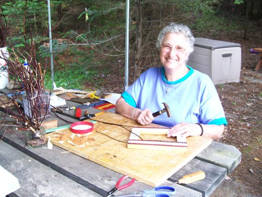 Pictured is Mary Vianese, a veteran CCT crafter.