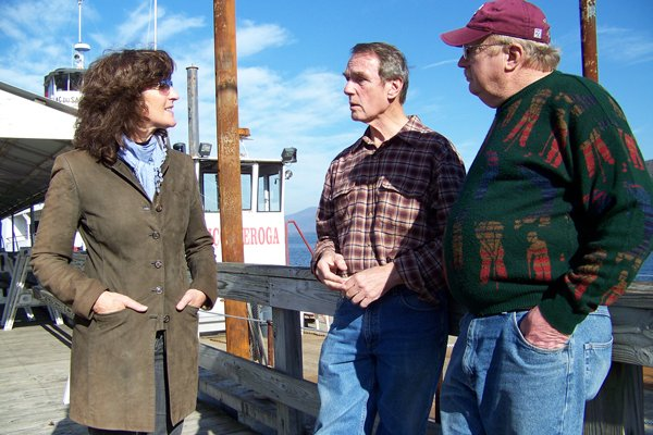 At a recent press conference held recently beside Lake George, Marisa Muratori, Dennis Dickinson and Dan Hurley — who pulled a political coup in the November elections — talked about their surprise over their hefty vote margins, as well as their plans for the future.