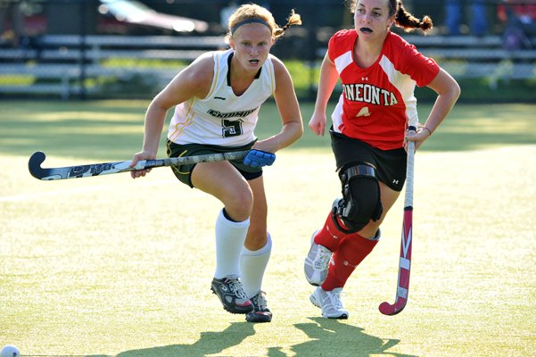 North River's Kelly Blackhurst earned top field hockey honor in her sophomore season at Skidmore.