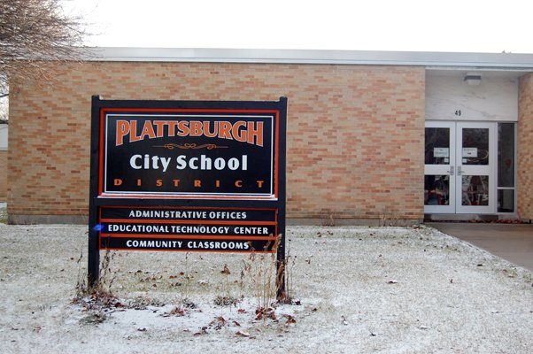 Shown above are the Plattsburgh City School district offices. The school district wants community support in the budget process this year.