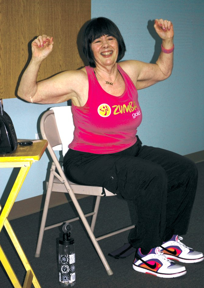 Get moving with zumba chair cny prime for Chair zumba