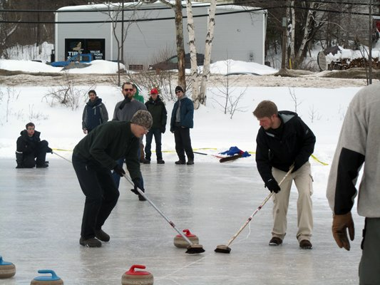 Curling, snowshoe races and other sports are part of the festivities at the Saranac Lake Winter Carnival.