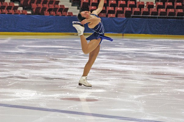 A skater at the 2011 Winter Empire State Games.