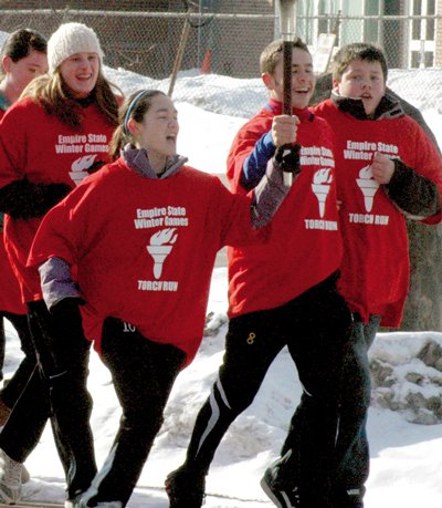 The 2012 Empire State Winter Games Torch Run will again start in Elizabethtown Feb. 1 and continue to the opening cermonies the next day.