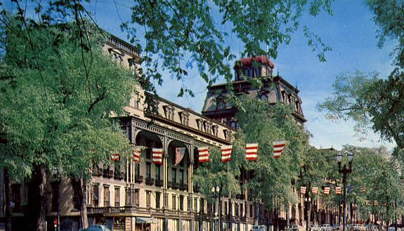 For many years during the  late 1900s and early 1900s, the opulent Grand Union Hotel in Saratoga Springs was host to the rich and famous, as well as politicians and stars of film and stage.