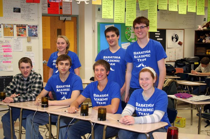 The Saratoga Springs High School Academic Team is gearing upfor a national competition.