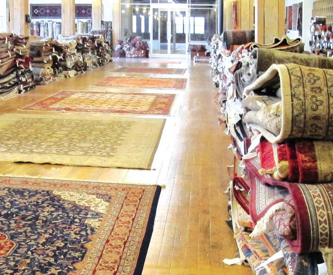 Jacobsen Rugs' new location at 225 Wilkinson St. opened its doors Jan. 2.