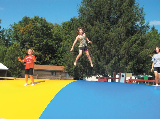Yogi Bear's new Jumping Pillow is awesome and family tubing is great fun, too.