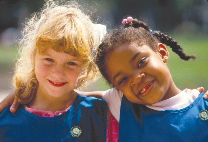 The Girl Scouts of the USA are celebrating their 100th anniversary this year. The organization got its start in 1912 when Juliette Gordon Low gathered 18 girls in her Savannah, Ga., home in an effort to give girls the opportunity to develop spiritually, mentally and physically.