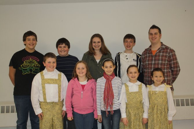 "Baldwinsville residents (back row, from left) Chris Tack, Caleb Goldberg, Brittany Allen, Colin Walsh, John Linnenbach, (front row, from left) Mason Smith, Mackenzie Bruen, Gianna Togias, Natalie Bullis and Sera Bullis will all be featured in the Christian School of Performing Arts' production of ""The Sound of Music,"" which will open at 7 p.m. March 16 with additional showings at 1 and 7 p.m. March 17 at the theater at Roxboro Road Middle School, 300 Bernard St., Syracuse."