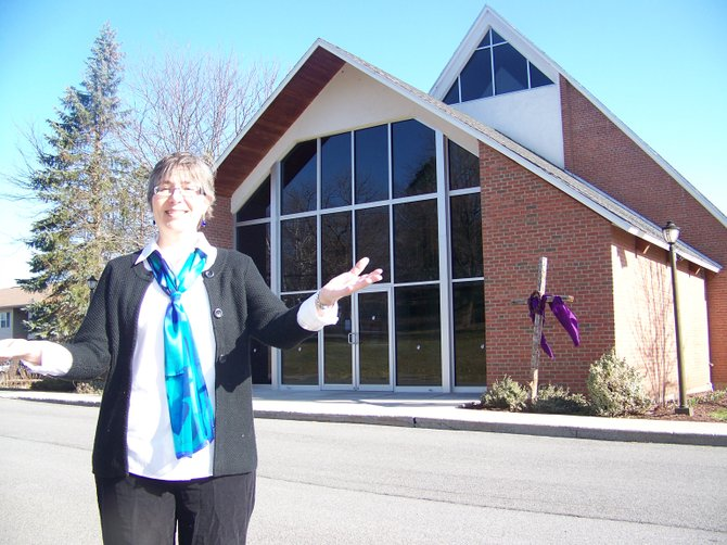 The Rev. Kathy Corley is working to bring the Baldwinsville community closer as the new priest in charge at Grace Episcopal Church.