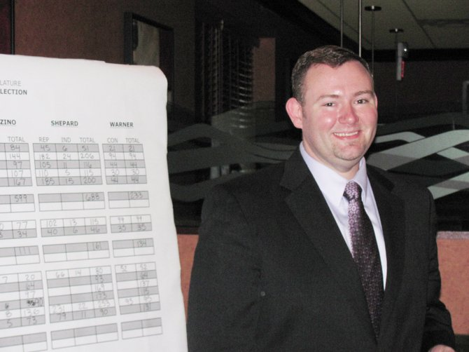 Derek Shepard was elected to the position of Onondaga County Legislator for the 13th district, covering the towns of Van Buren, Camillus and Elbridge, last November. Sworn into office Jan. 1, 2012, April 9 marked his 100th day on the job.