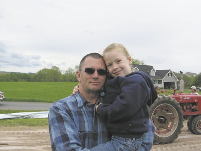 Wayne Olmstead, pictured here with his granddaughter Kyleigh Kinsella, then 6, took his own life on July 16, 2008. His daughter Tara Dennee (not pictured), has created a nonprofit, Stand Against Suicide, and is working to raise awareness about suicide prevention.