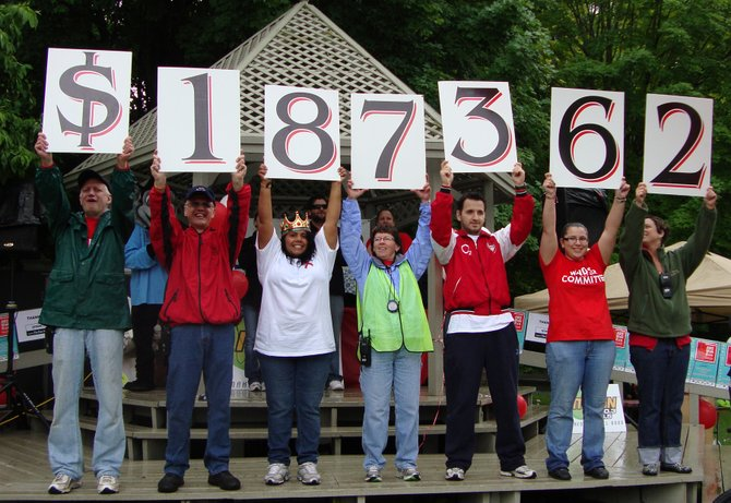 AIDS Walk/Run held at Beaver Lake Nature Center in Baldwinsville raised $187,362 during their Sunday, June 3rd event.