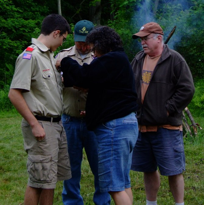 James Keegan was awarded the rank of Eagle Scout on Saturday, June 2.