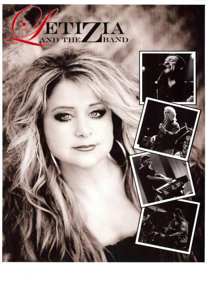 Letizia and the Z-Band will perform at 6:30 p.m. Friday, July 13, to kick off the 18th annual Seneca River Days.