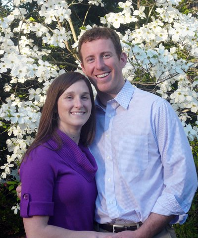 Heather Hallberg and Matthew Donohue
