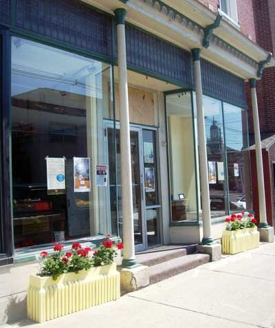 The community gallery space in downtown Ti will host an opening celebration on Thursday, July 19, from 5 p.m. to 9 p.m.