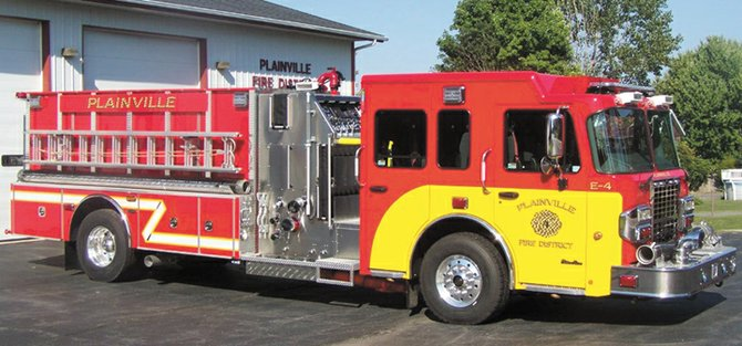 Plainville Fire Department recently took delivery of this state-of-the-art tanker pumper, which has a 1,500-gallon capacity to carry water to emergencies throughout the district's largely rural coverage area.