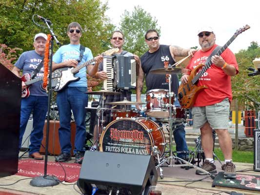 Fritz's Polka Band will headline the fourth annual Hague Oktoberfest Sept. 21-22.  This will be the third year the band has performed at the event and it anchors the festivities on Saturday afternoon.