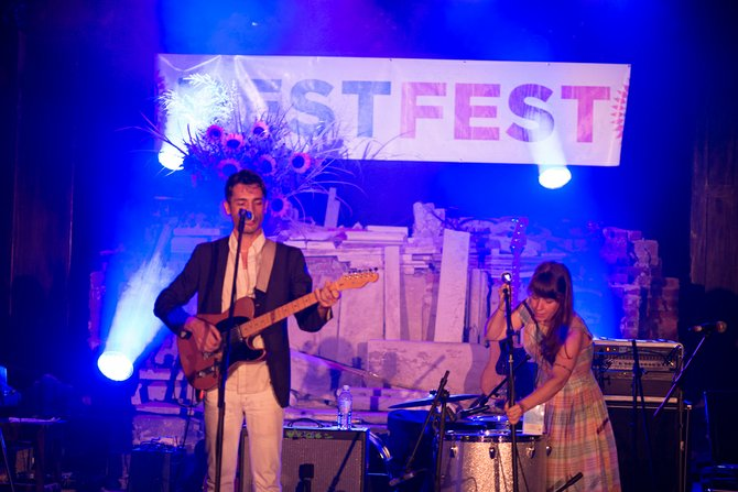 Rest Fest started in 2010 when members of the B3NSON Collective wanted to start a festival with local and national bands.