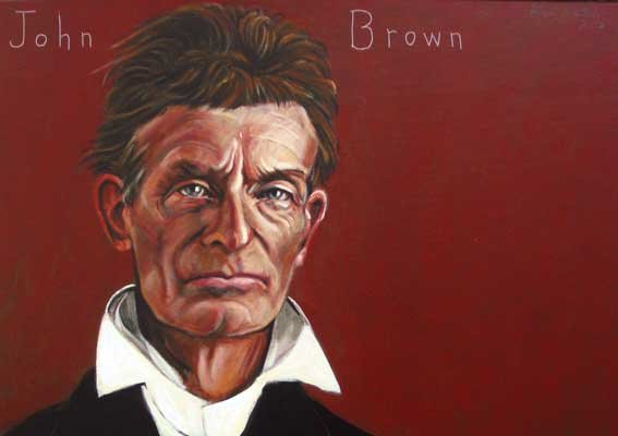 John Brown portrait by Robert Shetterly.