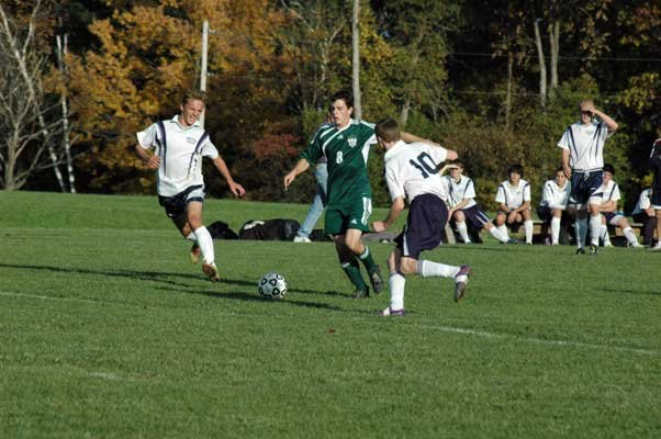 Nolan Rogers and the Chazy boys soccer team are the top-ranked team in Class D, as are the Lady Eagles.