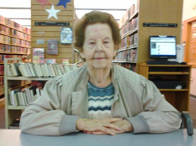 Jean Disinger, a charter member of the Betsy Baldwin DAR of Baldwinsville, served in the United States Navy as a member of the WAVES during World War II.