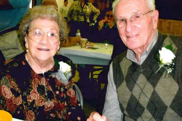 Leon and Viola LaMere celebrated 90 years of life in a combined birthday party, and 68 years together with their family and friends on Oct. 7.