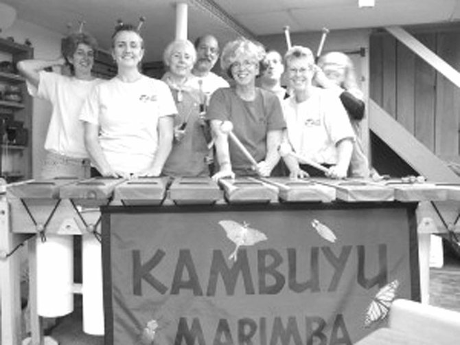 The Syracuse-based marimba ensemble Kambuyu will perform a free concert at 2 p.m. Sunday, Jan. 20, at Liverpool Public Library, 310 Tulip St.; 457-0310; lpl.org.