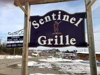 The Sentinel Grille, formally the Carillon and Tierneys Restaurant on Route 9N, is now open and will hold its grand opening Wednesday, Jan. 30, at 5 p.m.