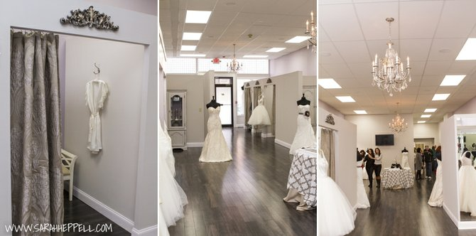 Check out bridal fashions at Baldwinsville's newest boutique, Mirror Mirror.