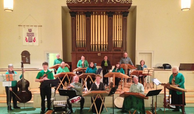 Members of the Striking Strings will perform at 7 p.m. Saturday, May 4, at the First Presbyterian Church in Baldwinsville. The hammered dulcimer ensemble has 16 members who travel from across the region to perform and offer workshops.
