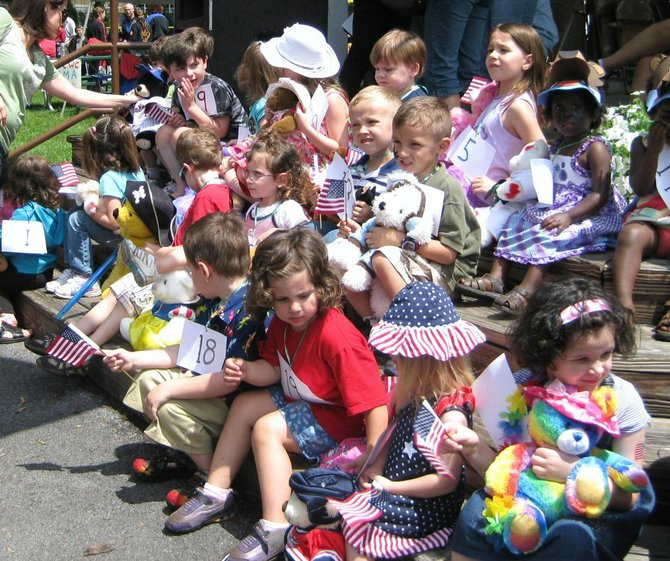 The Teddy Bear Parade is one of the mainstays of the North Syracuse Family Festival, which will take place from 11 a.m. to 5 p.m. Saturday, May 25, at Lonergan Park.