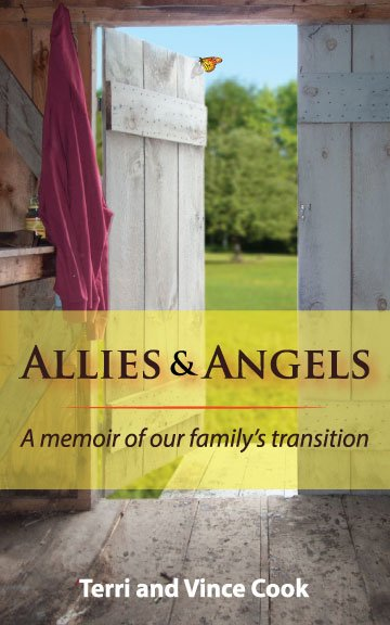 """In order to promote awareness and help others, Terri and Vince Cook have written """"Allies and Angels."""" The book details their son's realization that he was transgender and the family's journey through the process."""