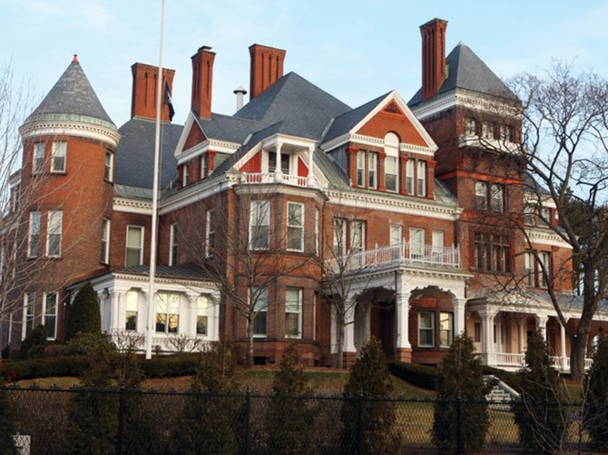 Green Party mainstay Howie Hawkins is running for governor of New York. Pictured is the Governor's Mansion.