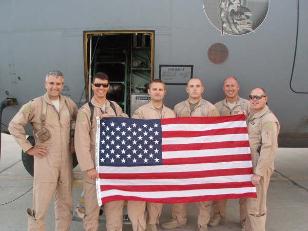 Members of the 109th Airlift wing of the NY Air National Guard in Afghanistan.
