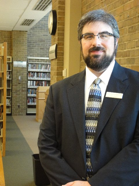 Geoffrey Kirkpatrick has been named the new director of the Bethlehem Public Library, after over a decade in administrative roles there. He said he's looking forward to implementing new, technology-driven programs at the library. Submitted photo