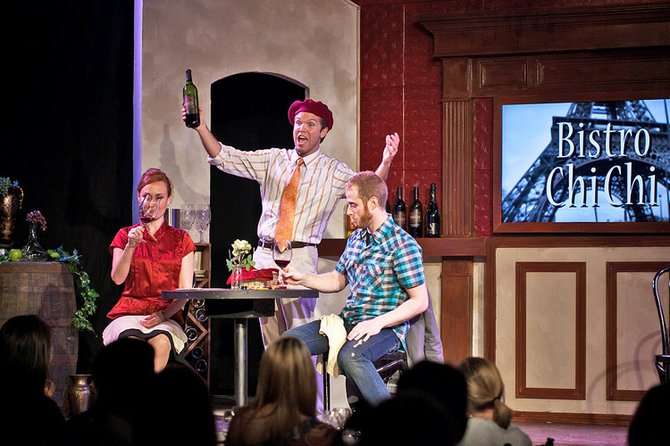 """Wine Lovers"" is a wine tasting musical."